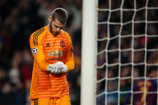 De Gea was at fault for Messi's second goal