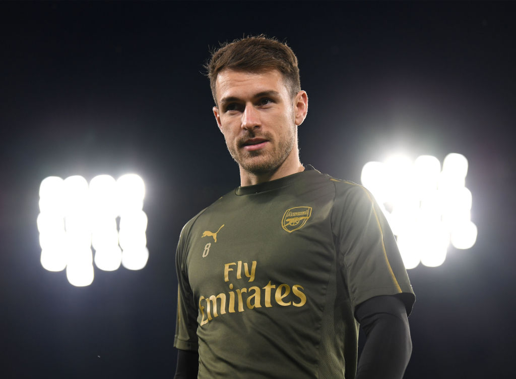 Aaron Ramsey to miss Arsenal's clash with Crystal Palace while Granit Xhaka is an injury doubt