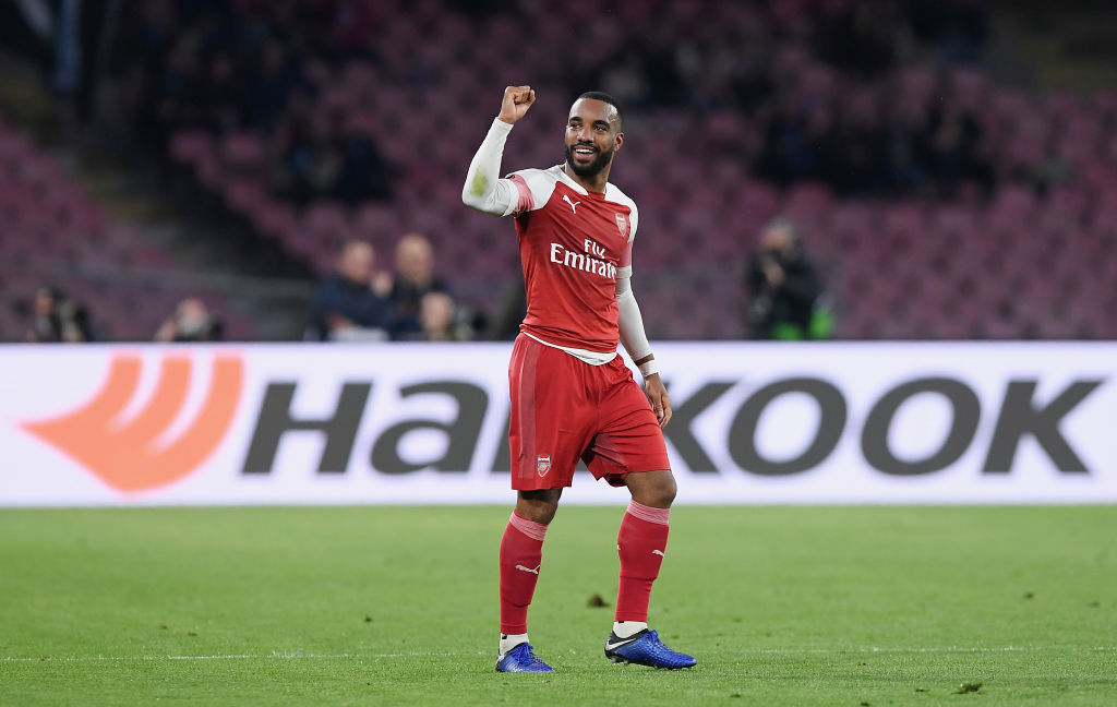 Alexandre Lacazette stunner helps Arsenal cruise past Napoli