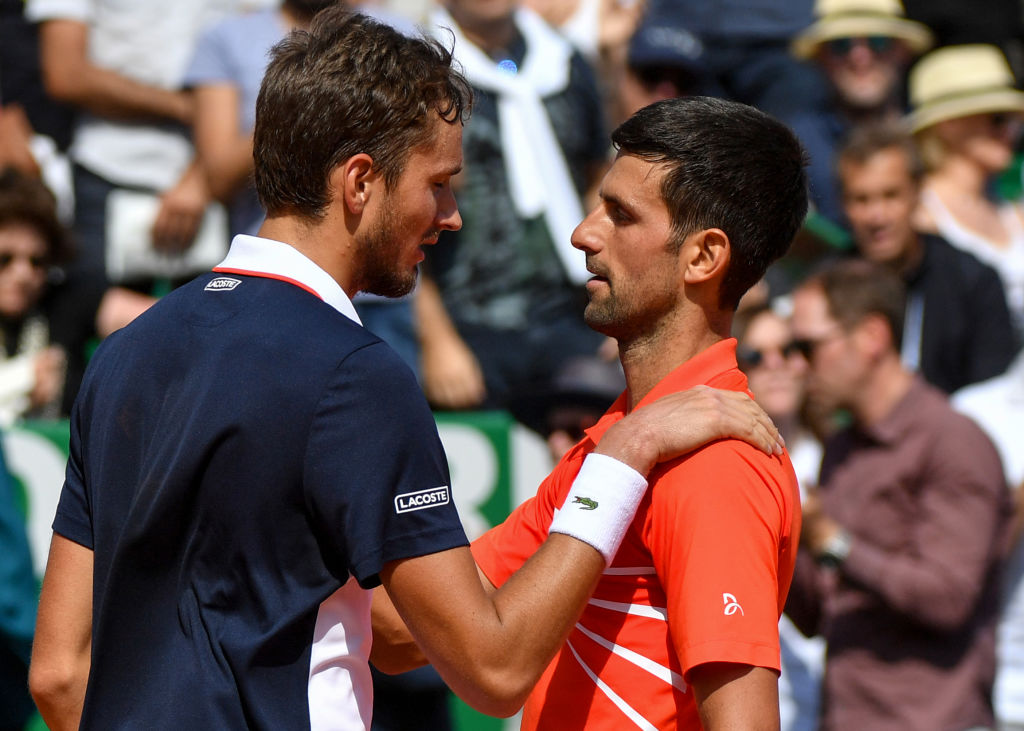 Novak Djokovic not concerned after Monte Carlo exit to Daniil Medvedev despite recent dip in form