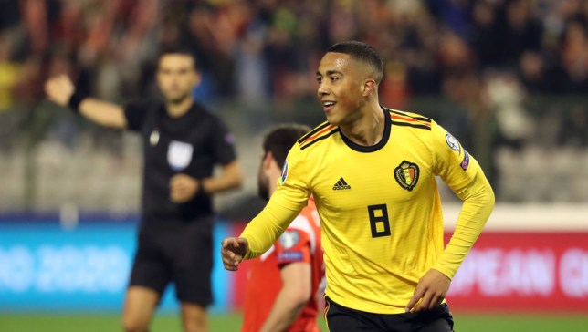 Monaco's Youri Tielemans has impressed for Leicester City