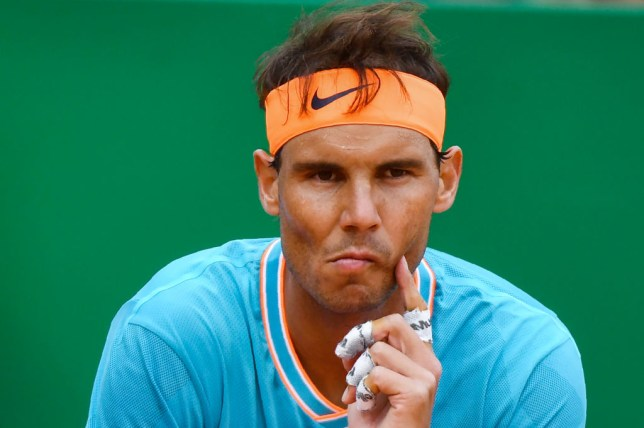 Nadal was frustrated