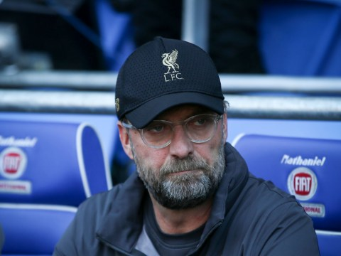 Liverpool manager Jurgen Klopp reacts to Man Utd's defeat at Everton ahead of Old Tafford title decider