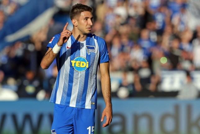 Grujic is on loan in Germany