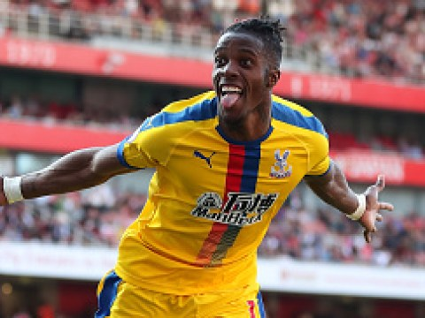Roy Hodgson opens up on Wilfried Zaha's future after Crystal Palace stun Arsenal