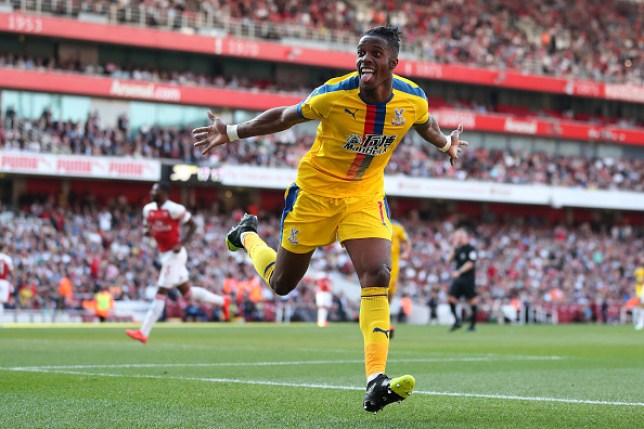 Roy Hodgson is adamant that Wilfried Zaha is going nowhere