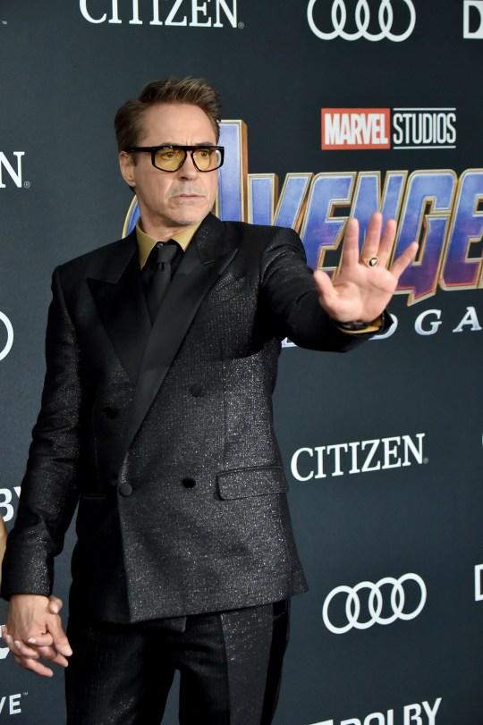 Robert Downey Jr at the Avengers: Endgame premiere
