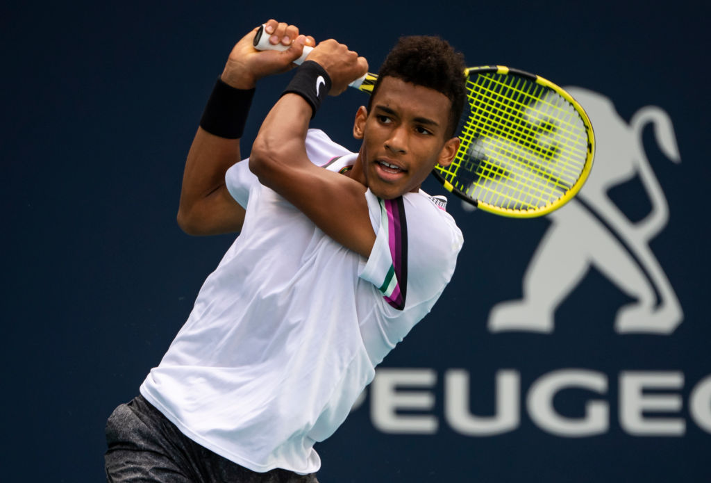 Auger-Aliassime is gaining more recognition