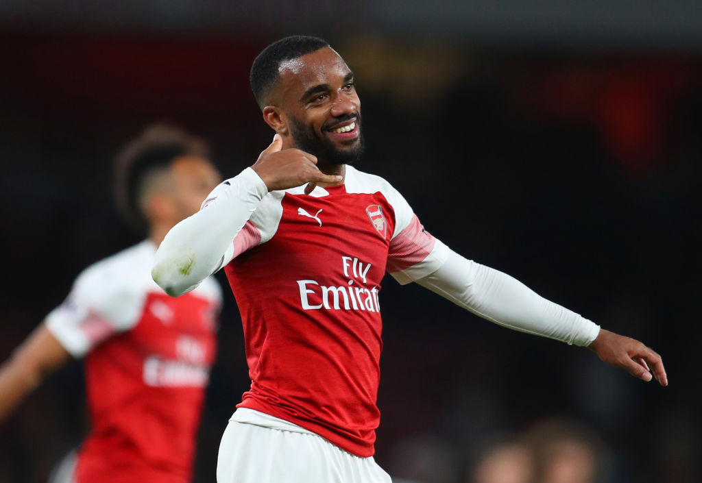 Alexandre Lacazette reveals major difference between Unai Emery and Arsene Wenger