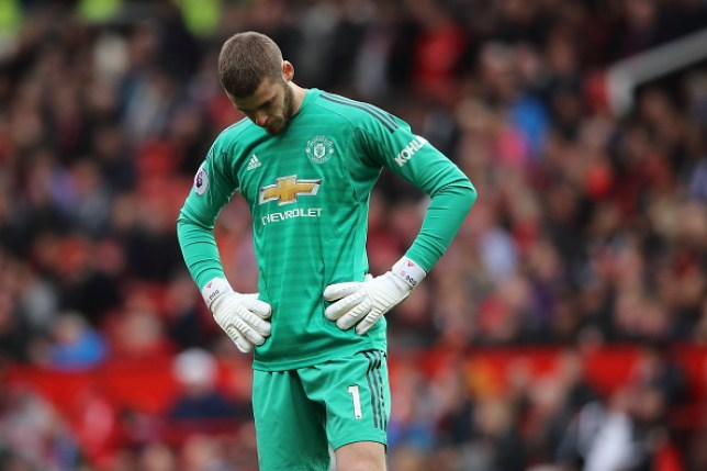 David De Gea was at fault for Marcos Alonso's equaliser