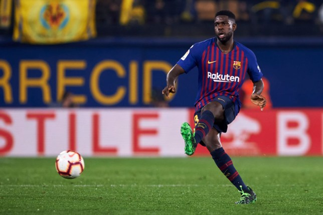 Samuel Umtiti is wanted by Arsenal this summer