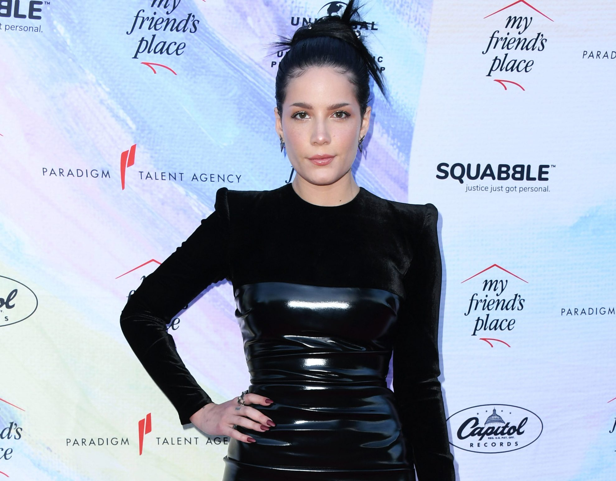 Halsey shows off painful scars as she warns fans not to go 'rock climbing naked'