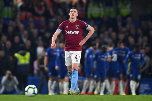 Manchester United are lining up a move for West Ham star Declan Rice