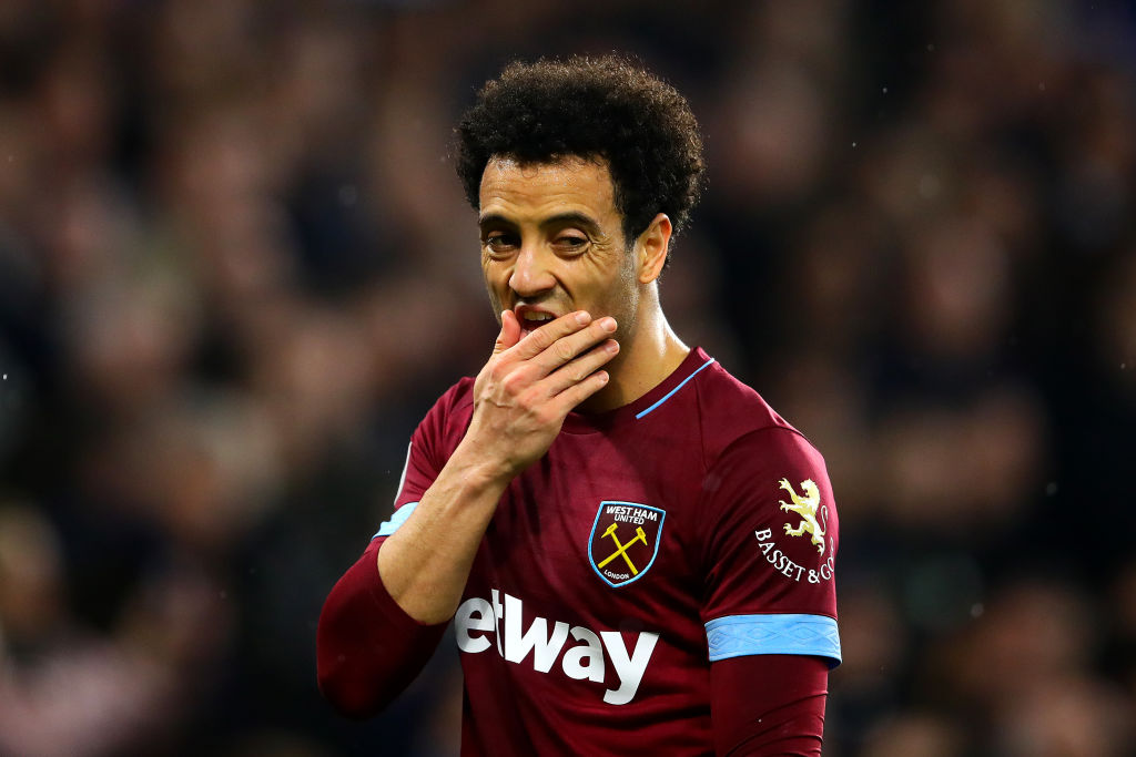 West Ham adamant that Felipe Anderson will stay despite Real Madrid rumours