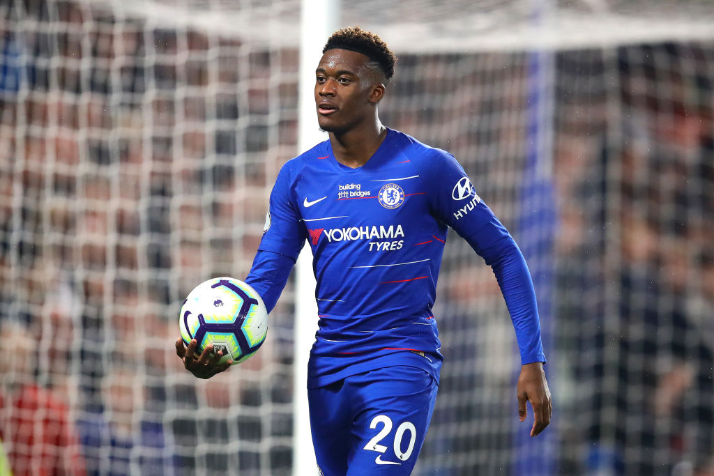 Callum Hudson-Odoi is yet to sign a new contract at Chelsea