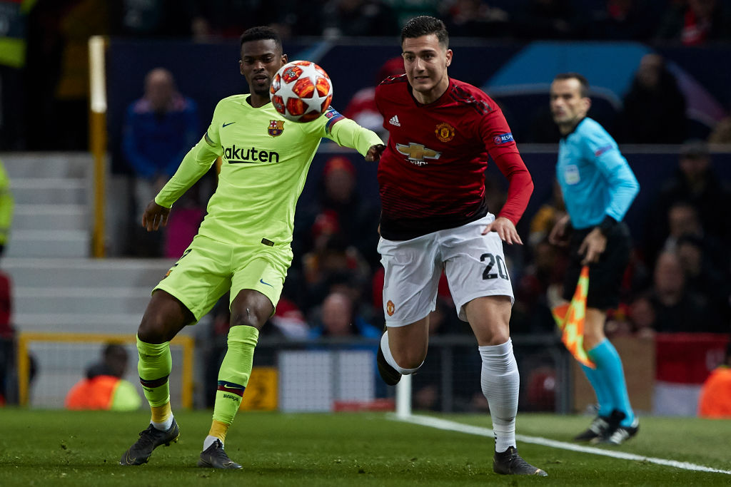 Manchester United legend Gary Neville 'surprised' Diogo Dalot has been benched for Barcelona clash
