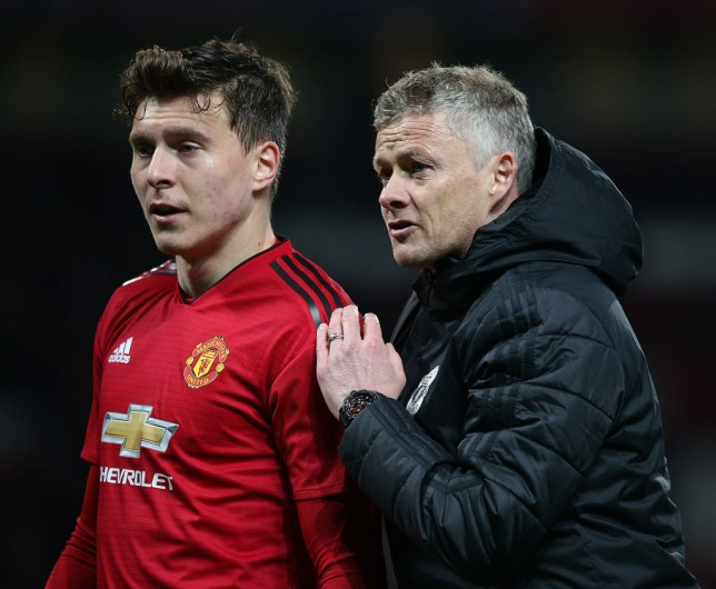 Manchester United star Victor Lindelof was praised by Ole Gunnar Solskjaer after the defeat to Barcelona