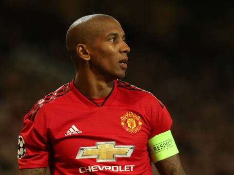 Ashley Young lost possession 30 times during Manchester United's defeat to Barcelona