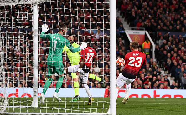 Shaw's own goal gave Barcelona the advantage