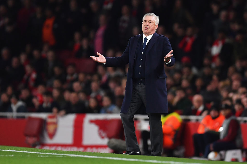 GettyImages-1142032493 Carlo Ancelotti outlines the three ingredients Napoli require to beat Arsenal
