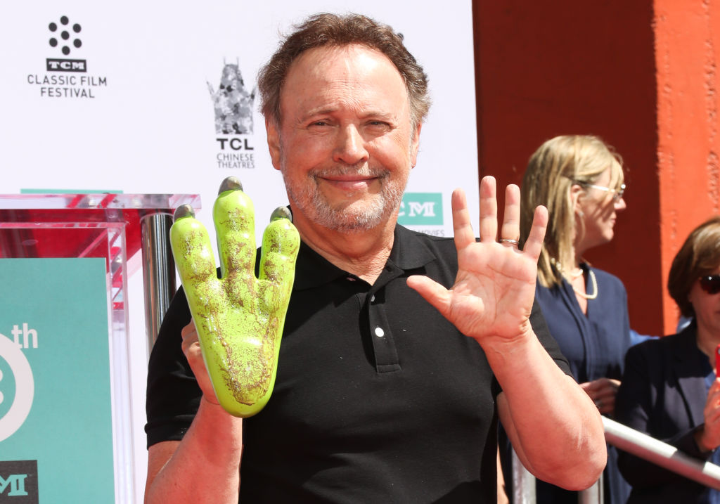 Billy Crystal honoured with Chinese Theatre hand and footprint ceremony and Monsters Inc's Mike Wazowski gets in on the action