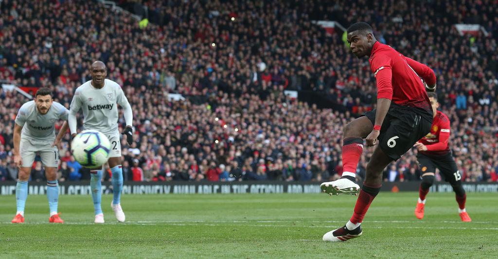 Paul Pogba admits he might have changed penalty technique to trick Lukasz Fabianski