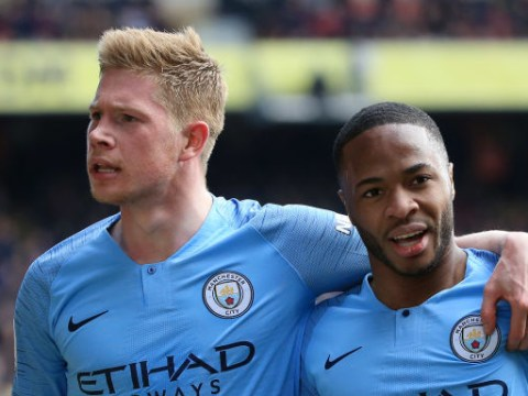 Kevin De Bruyne plays passes other human beings can't see, says Pep Guardiola