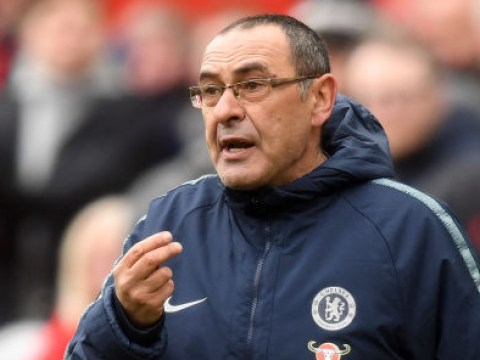 Maurizio Sarri slams the level of officiating in the Premier League after Chelsea's loss to Liverpool