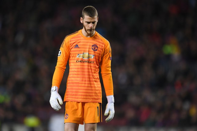 David De Gea has endured a difficult few weeks for Manchester United