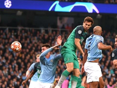Rio Ferdinand claims Fernando Llorente's winner against Man City was a handball