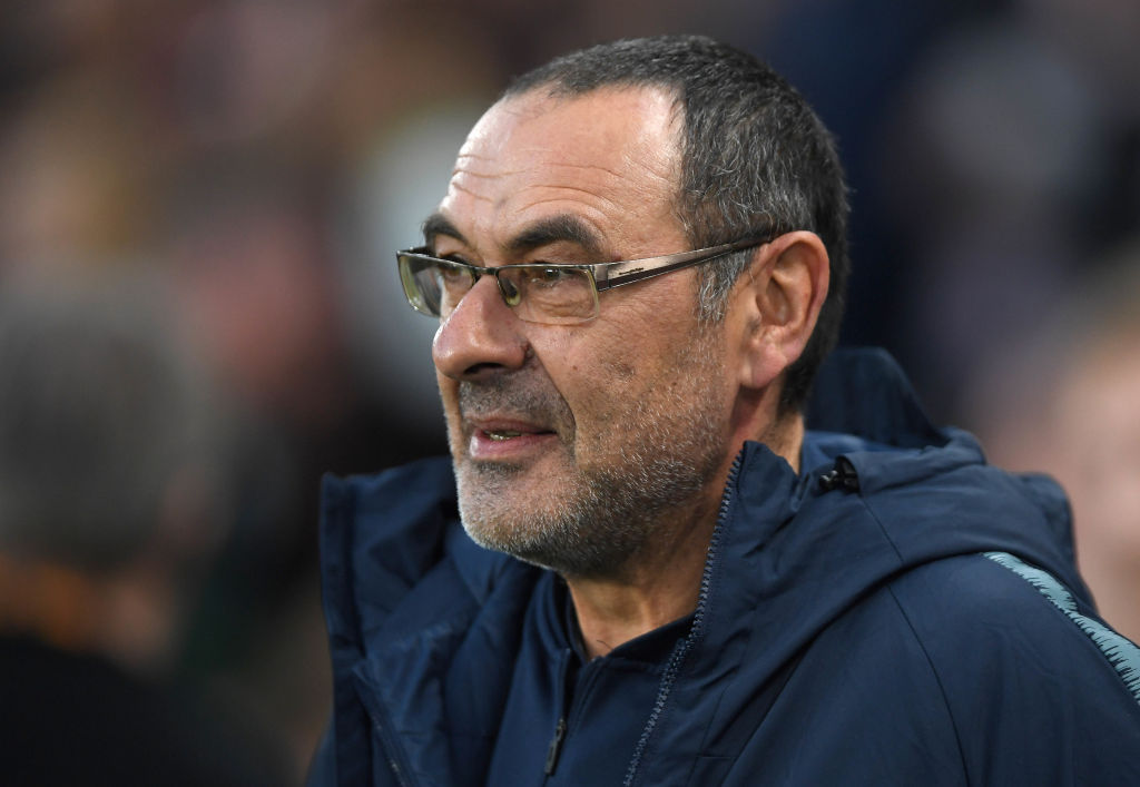 Maurizio Sarri sad to see old club Napoli exit Europa League at the hands of Arsenal
