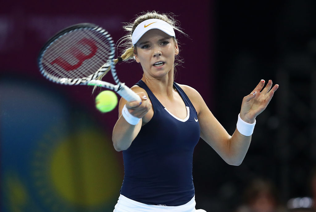 Katie Boulter fails to convert three match points as rowdy Kazakhstan peg Great Britain back