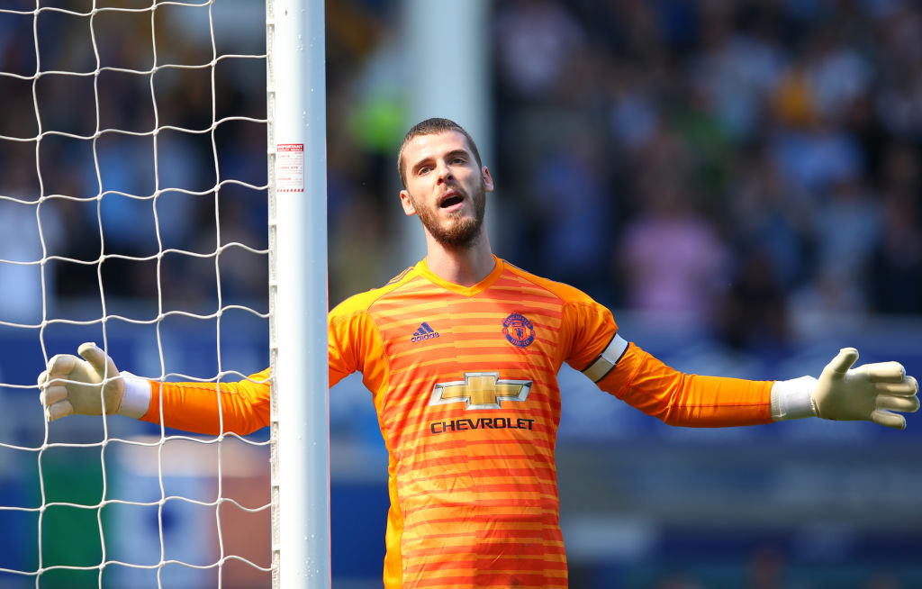 Paul Robinson questions David De Gea after Man United's 4-0 thrashing by Everton