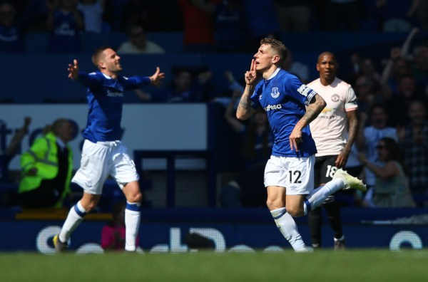 Digne put Everton in dreamland shortly after half-time