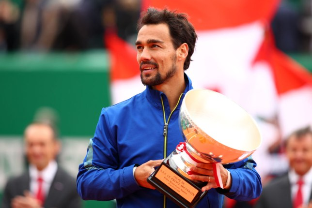 Fognini with the Monte Carlo title
