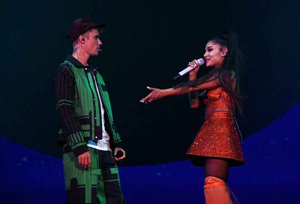 Ariana Grande brings Justin Bieber out during Coachella 2019 set as he teases new album