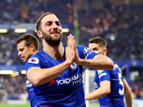 Maurizio Sarri speaks out on Gonzalo Higuain's tantrum against Burnley