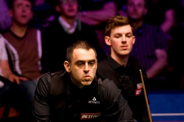 Ronnie O'Sullivan lost to James Cahill