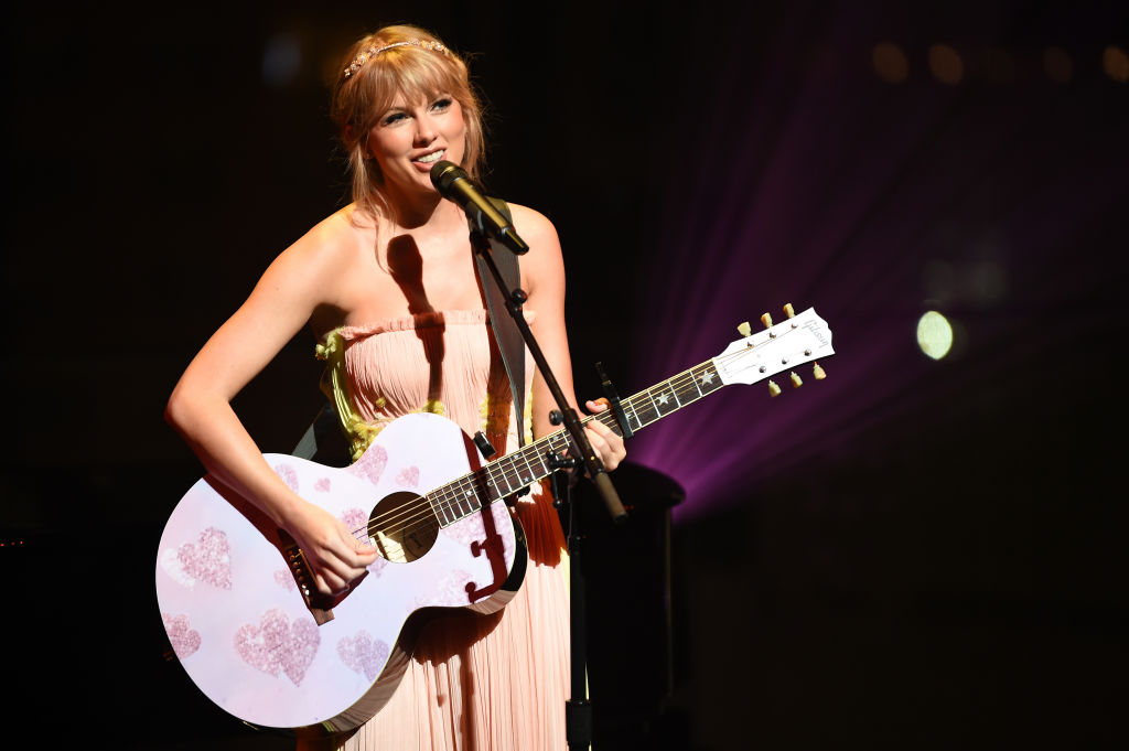 Taylor Swift performs at the TIME 100 gala 2019 in New York City