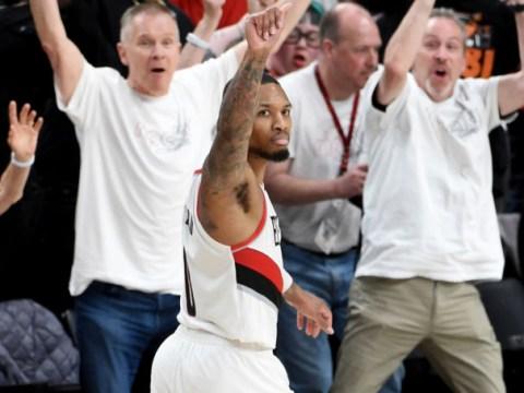 Damian Lillard nails 37-foot buzzer-beater to seal Portland Trail Blazers series win over Oklahoma City Thunder