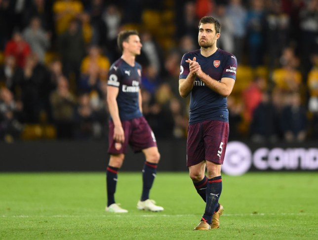463e004a892 Sokratis admitted that Arsenal were not good enough during their defeat to  Wolves on Wednesday
