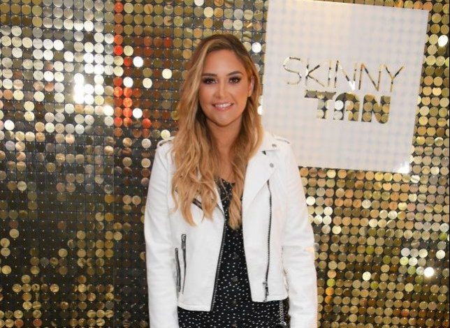 Jacqueline Jossa at Skinny Tan launch