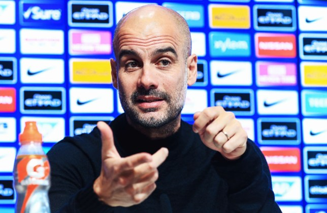 Pep Guardiola has reiterated his commitment to Manchester City