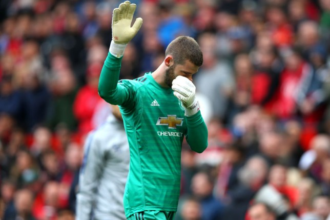 David De Gea apologised to the Manchester United fans after his error
