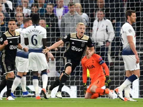 Fearless Ajax leave Tottenham's Champions League hopes hanging by a thread