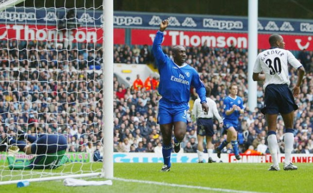 Hasselbaink left Chelsea in 2004 to join Middlesbrough