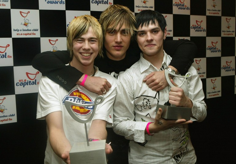 Busted: James Bourne, Charlie Simpson and Matt Willis