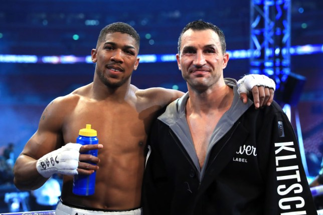 Wladimir Klitschko has teased a potential rematch against Anthony Joshua