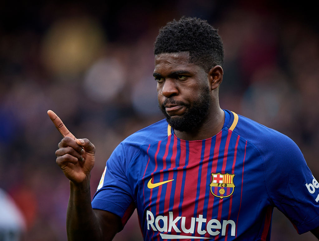 Samuel Umtiti determined to stay at Barcelona despite Arsenal interest