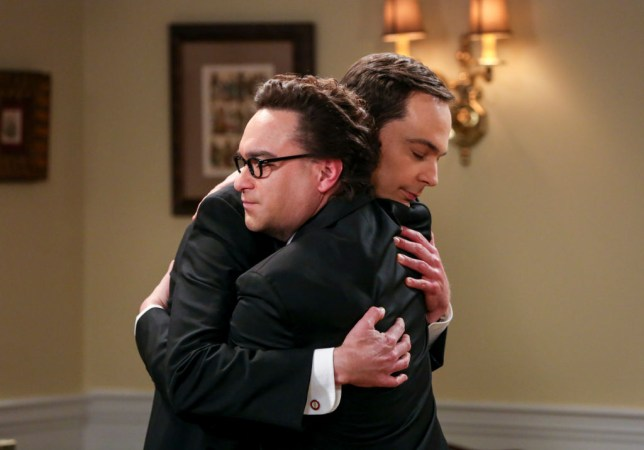 Johnny Galecki and Jim Parsons in The Big Bang Theory